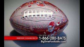 Big Time Bats TV Spot, 'Patrick Mahomes 2018 NFL MVP Art Football' - Thumbnail 2