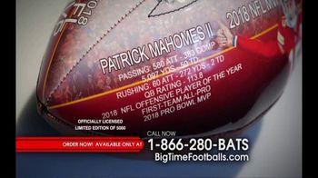Big Time Bats TV Spot, 'Patrick Mahomes 2018 NFL MVP Art Football' - Thumbnail 4