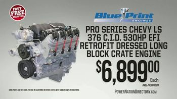 PowerNation Directory TV Spot, 'Engine, Cylinder Heads, Engine Block and Tires'