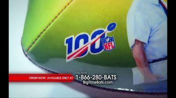 Big Time Bats TV Spot, 'Green Bay Packers NFL 100th Legacy Art Football' - Thumbnail 1