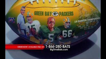 Big Time Bats TV Spot, 'Green Bay Packers NFL 100th Legacy Art Football' - Thumbnail 3
