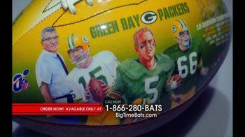 Big Time Bats TV Spot, 'Green Bay Packers NFL 100th Legacy Art Football' - Thumbnail 4
