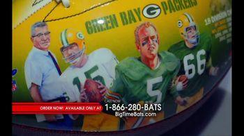 Big Time Bats TV Spot, 'Green Bay Packers NFL 100th Legacy Art Football' - Thumbnail 5