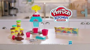 Play-Doh Kitchen Creations Popcorn Party TV Spot, 'The Party Pops' - Thumbnail 10