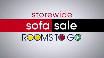 Rooms to Go Storewide Sofa Sale TV Spot, 'Save and Choose'