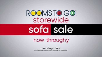 Rooms to Go Storewide Sofa Sale TV Spot, 'Save and Choose' - Thumbnail 7