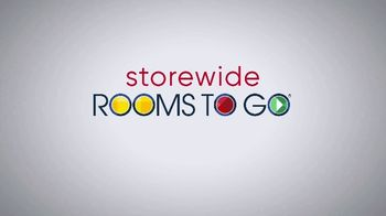 Rooms to Go Storewide Sofa Sale TV Spot, 'Save and Choose' - Thumbnail 1