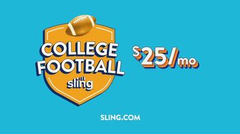 Sling TV Spot, 'College Football' - Thumbnail 10