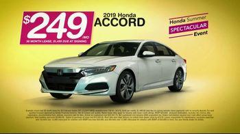 Honda Summer Spectacular Event TV Spot, 'Get Accords' [T2] - Thumbnail 7