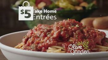 Olive Garden $5 Take Home Entrees TV Spot, 'Hurry In: Two Nights' - Thumbnail 4