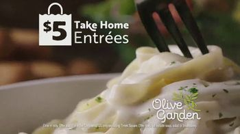 Olive Garden $5 Take Home Entrees TV Spot, 'Hurry In: Two Nights' - Thumbnail 8