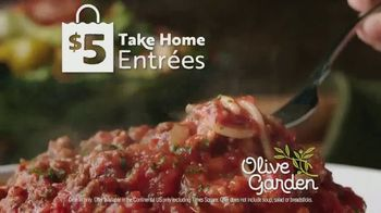 Olive Garden $5 Take Home Entrees TV Spot, 'Hurry In: Two Nights' - Thumbnail 9