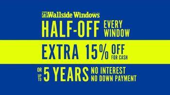 Wallside Windows TV Spot, 'Half-Off Every Window'