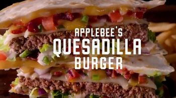 Applebee's Signature Handcrafted Burgers TV Spot, 'Quesadilla, Whisky Bacon and Brunch Burger' - Thumbnail 4