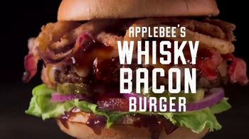 Applebee's Signature Handcrafted Burgers TV Spot, 'Quesadilla, Whisky Bacon and Brunch Burger' - Thumbnail 6
