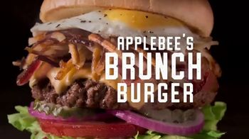 Applebee's Signature Handcrafted Burgers TV Spot, 'Quesadilla, Whisky Bacon and Brunch Burger' - Thumbnail 7