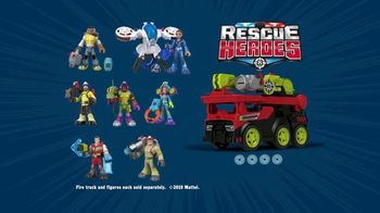 Rescue Heroes Transforming Fire Truck TV Spot, 'No One Gets Left Behind' - Thumbnail 9