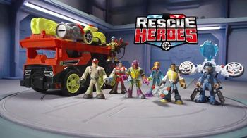 Rescue Heroes Transforming Fire Truck TV Spot, 'No One Gets Left Behind' - Thumbnail 1
