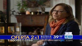 Omega XL TV Spot, 'Funciones' con Ana María Polo