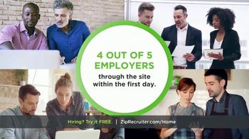 ZipRecruiter TV Spot, 'Finding Qualified Candidates' - Thumbnail 10
