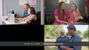 ZipRecruiter TV Spot, 'Finding Qualified Candidates'