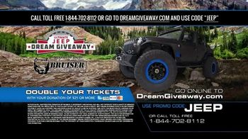 2019 Jeep Dream Giveaway TV Spot, 'One Day I'll Own a Jeep' - Thumbnail 10