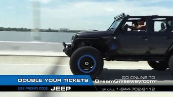 2019 Jeep Dream Giveaway TV Spot, 'One Day I'll Own a Jeep' - Thumbnail 4