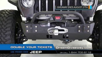 2019 Jeep Dream Giveaway TV Spot, 'One Day I'll Own a Jeep' - Thumbnail 5