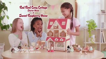 Calico Critters Sweet Raspberry Home TV Spot, 'Welcome'