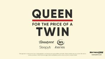 Mattress Firm Labor Day Preview Sale TV Spot, 'King for the Price of a Queen' - Thumbnail 4