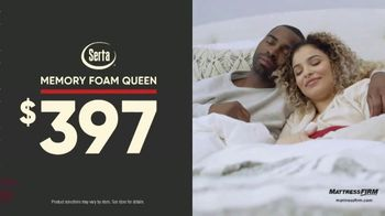 Mattress Firm Labor Day Preview Sale TV Spot, 'King for the Price of a Queen'