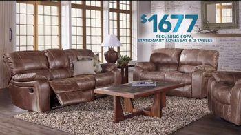 Rooms to Go TV Spot, 'Labor Day: Reclining Sofa' - Thumbnail 4