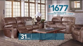 Rooms to Go TV Spot, 'Labor Day: Reclining Sofa' - Thumbnail 5