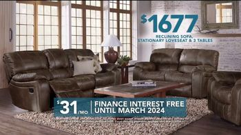 Rooms to Go TV Spot, 'Labor Day: Reclining Sofa' - Thumbnail 6
