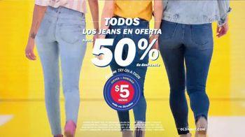 Old Navy Denim Try-On-A-Thon TV Spot, 'Entona tu look de verano: jeans' canción de Kaskade [Spanish] - Thumbnail 4