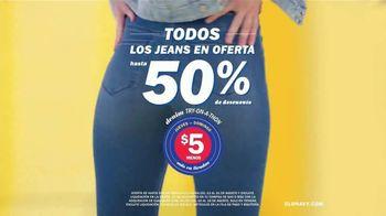 Old Navy Denim Try-On-A-Thon TV Spot, 'Entona tu look de verano: jeans' canción de Kaskade [Spanish] - Thumbnail 5