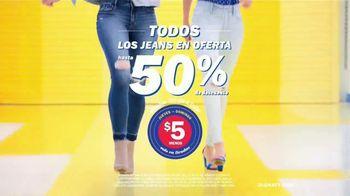 Old Navy Denim Try-On-A-Thon TV Spot, 'Entona tu look de verano: jeans' canción de Kaskade [Spanish] - Thumbnail 7