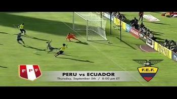 DIRECTV TV Spot, 'Integrated Sports: Clásico Sudamericano: Peru vs. Ecuador' - Thumbnail 5