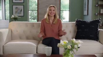 La-Z-Boy Labor Day Sale TV Spot, 'Keep It Real: 30 Percent Off Everything' Featuring Kristen Bell - Thumbnail 3