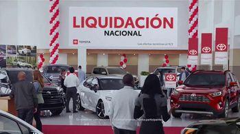 Toyota Liquidación Nacional TV Spot, 'No te lo pierdas' [Spanish] [T2] - Thumbnail 1