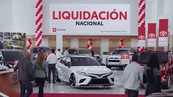 Toyota Liquidación Nacional TV Spot, 'No te lo pierdas' [Spanish] [T2] - Thumbnail 2
