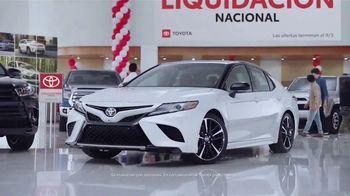Toyota Liquidación Nacional TV Spot, 'No te lo pierdas' [Spanish] [T2] - Thumbnail 4