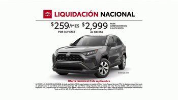 Toyota Liquidación Nacional TV Spot, 'No te lo pierdas' [Spanish] [T2] - Thumbnail 5