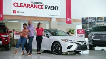 Toyota National Clearance Event TV Spot, 'Clap' Song by Fitz and the Tantrums [T1] - 16 commercial airings