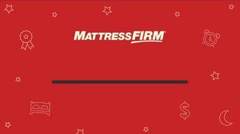 Mattress Firm Labor Day Sale TV Spot, 'Ends Monday: 50 Percent Off Beautyrest' - Thumbnail 1