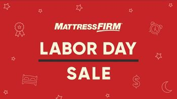 Mattress Firm Labor Day Sale TV Spot, 'Ends Monday: 50 Percent Off Beautyrest' - Thumbnail 2