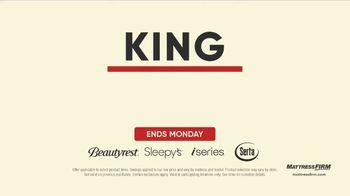 Mattress Firm Labor Day Sale TV Spot, 'Ends Monday: 50 Percent Off Beautyrest' - Thumbnail 3