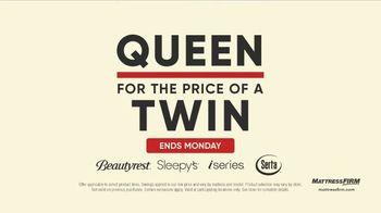 Mattress Firm Labor Day Sale TV Spot, 'Ends Monday: 50 Percent Off Beautyrest' - Thumbnail 5