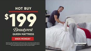 Mattress Firm Labor Day Sale TV Spot, 'Ends Monday: 50 Percent Off Beautyrest' - Thumbnail 6