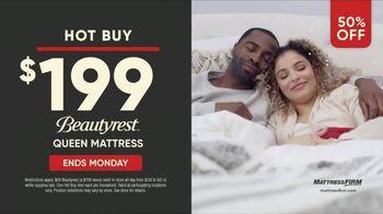 Mattress Firm Labor Day Sale TV Spot, 'Ends Monday: 50 Percent Off Beautyrest' - Thumbnail 7